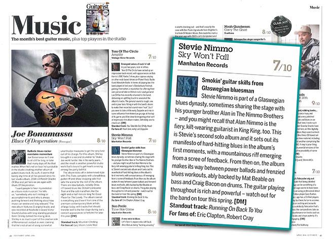 Guitarist album review